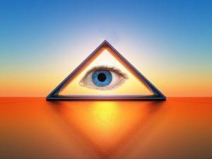 Helderzienden werken veelal met hun 3de oog